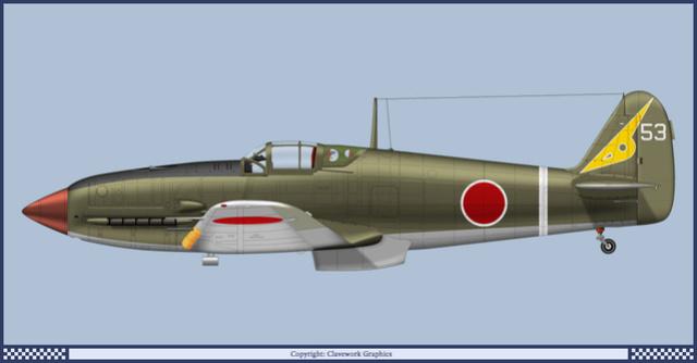 "Kawasaki Ki 61 Tei "" Hien"" ou Tony 1/48 (Fini ) 65_8510"