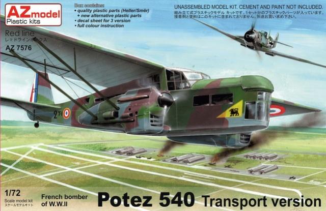 AZ Models Potez 540 Transport 1/72 Az757613