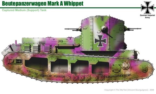 Whippet ( Meng 1/35 )FINI Left10