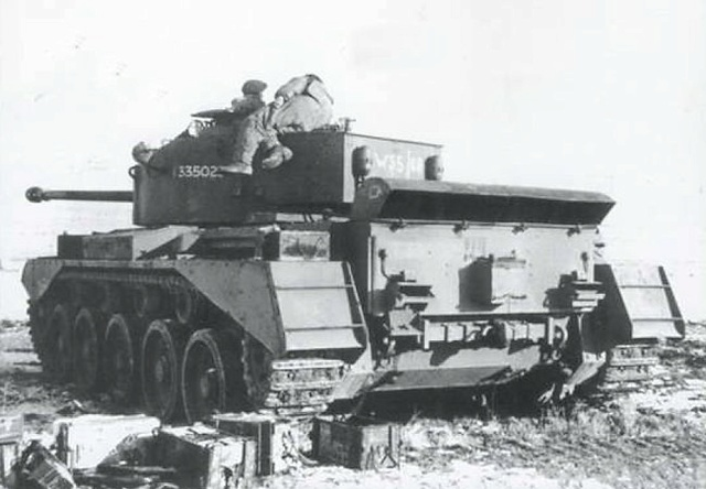 A-34 Comet 23 th Hussars ( Bronco 1/35) FINI. Norman11
