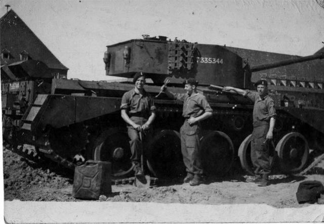 A-34 Comet 23 th Hussars ( Bronco 1/35) FINI. Wp12eb10
