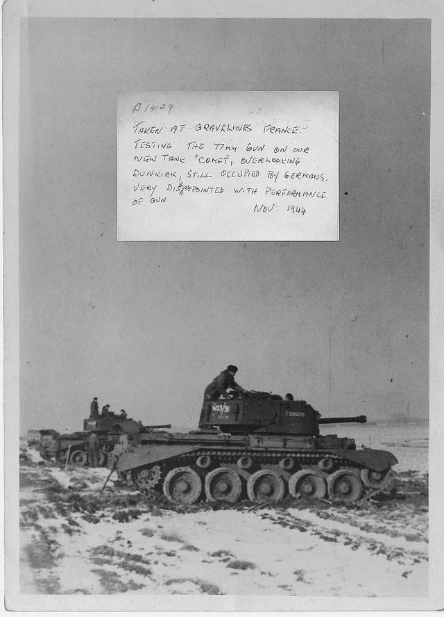 A-34 Comet 23 th Hussars ( Bronco 1/35) FINI. Wp8b7a10