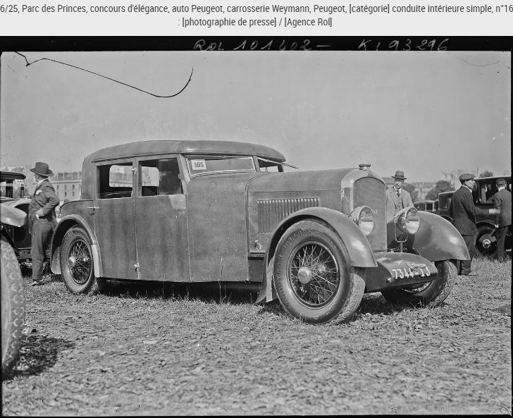 Peugeot blindee 112