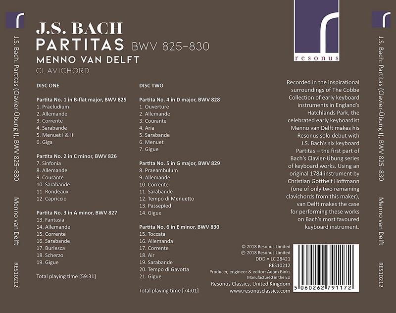 Bach : Suites anglaises, françaises et partitas pour clavier - Page 3 91pdbv11