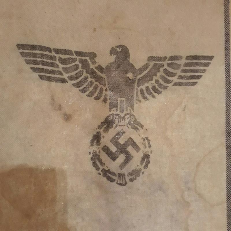 Morceau de toila nazie a id 211