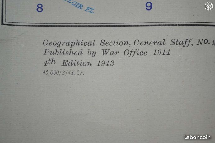 Carte d'état major ww2 81bf7c10