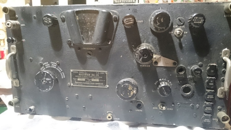 GROSSE RADIO US ARMY SIGNAL CORPS RECTIFIER RA 20 Dsc_9013