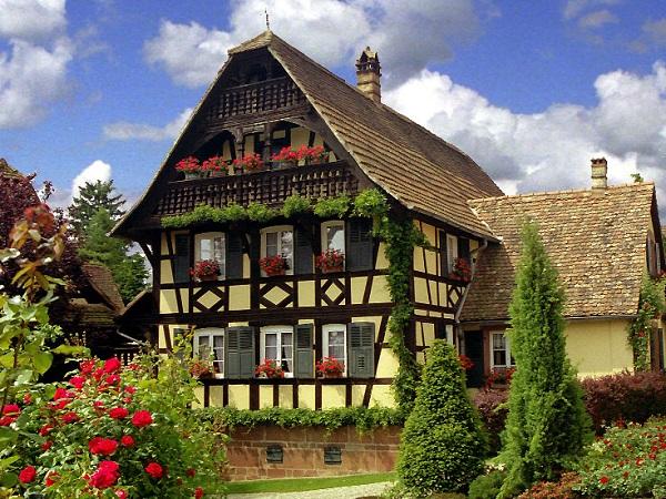 Petit test ( Alsacien ) Maison10
