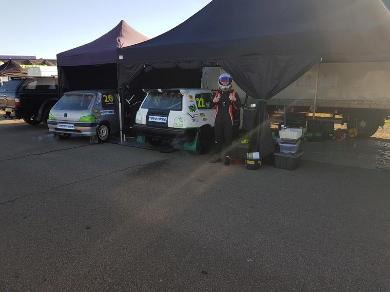 Extreme 22 Pulsar Gtir racing @ British Rallycross Championship (1st round) 20180316