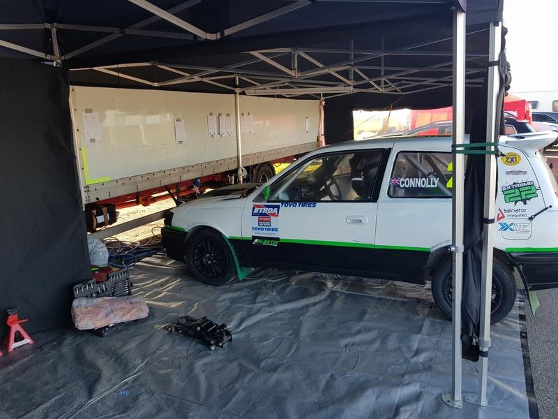 Extreme 22 Pulsar Gtir racing @ British Rallycross Championship (1st round) 20180318