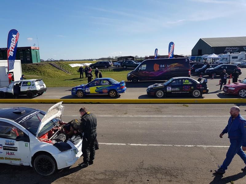Extreme 22 Pulsar Gtir racing @ British Rallycross Championship (1st round) 20180321