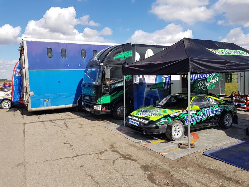 Extreme 22 Pulsar Gtir racing @ British Rallycross Championship (1st round) 20180325