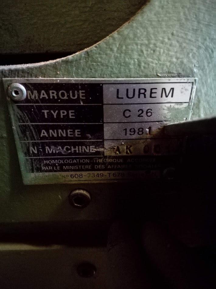 A vendre combiné LUREM de 1981 VENDUE Img_2032