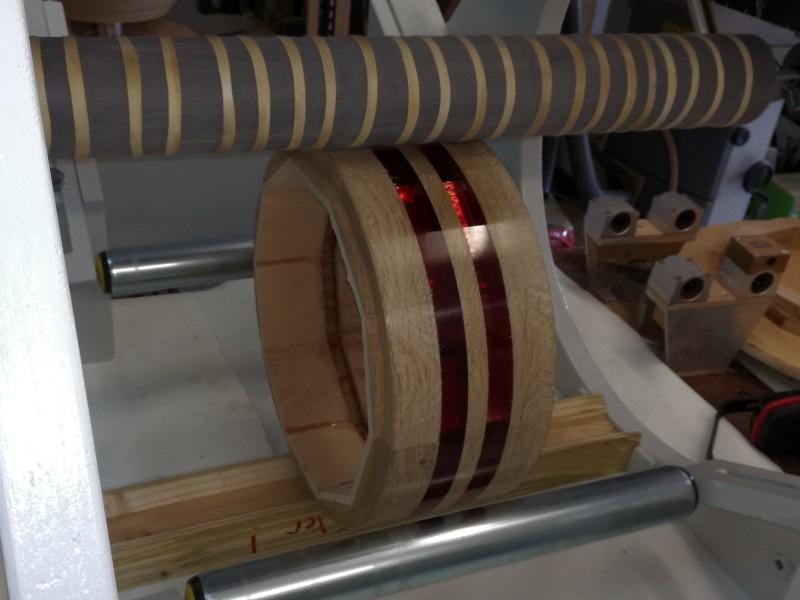 Réalisation de futs de batterie en bois tourné - Page 10 Montag10