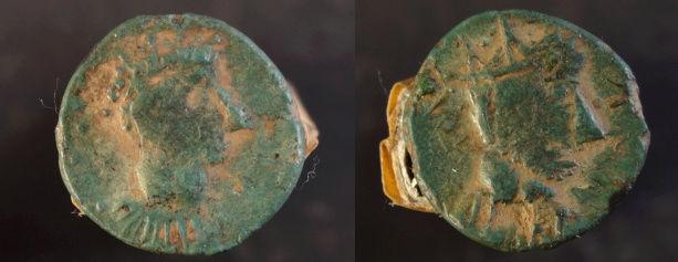 Monnaie mérovingienne à identifier Mero10