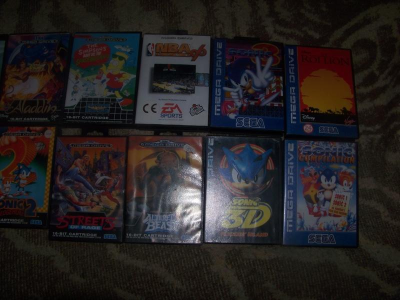 console et jeux Sega Megadrive 100_2020