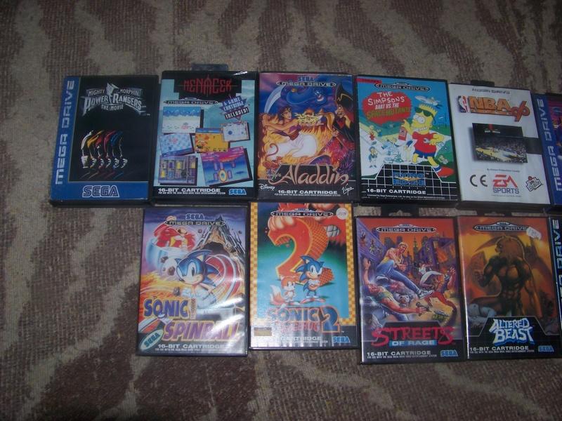 console et jeux Sega Megadrive 100_2021