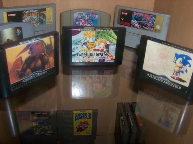 console et jeux Sega Megadrive 100_2022