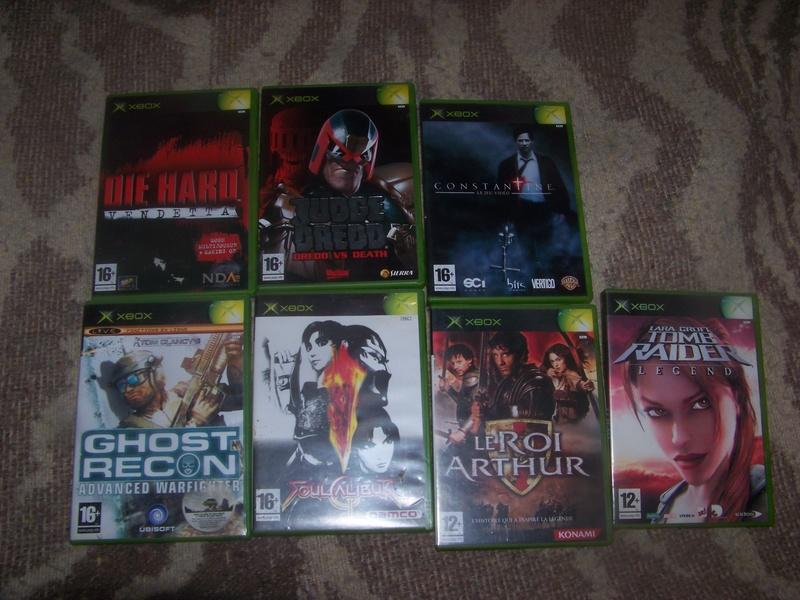 console et jeux Xbox 100_2024
