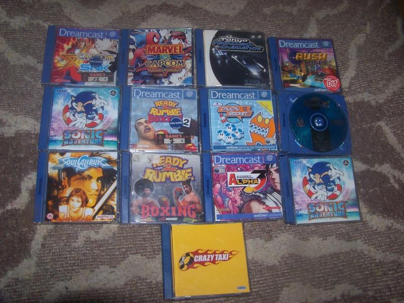console et jeux Sega Dreamcast 100_2031