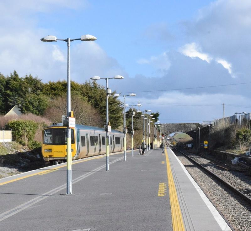 Real Irish Rail scenes Junct110