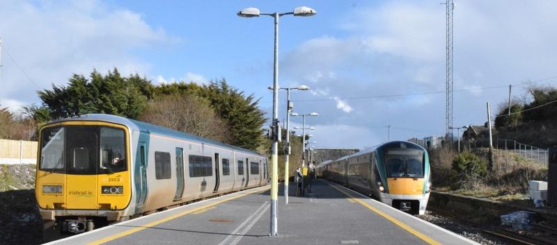 Real Irish Rail scenes Junct210