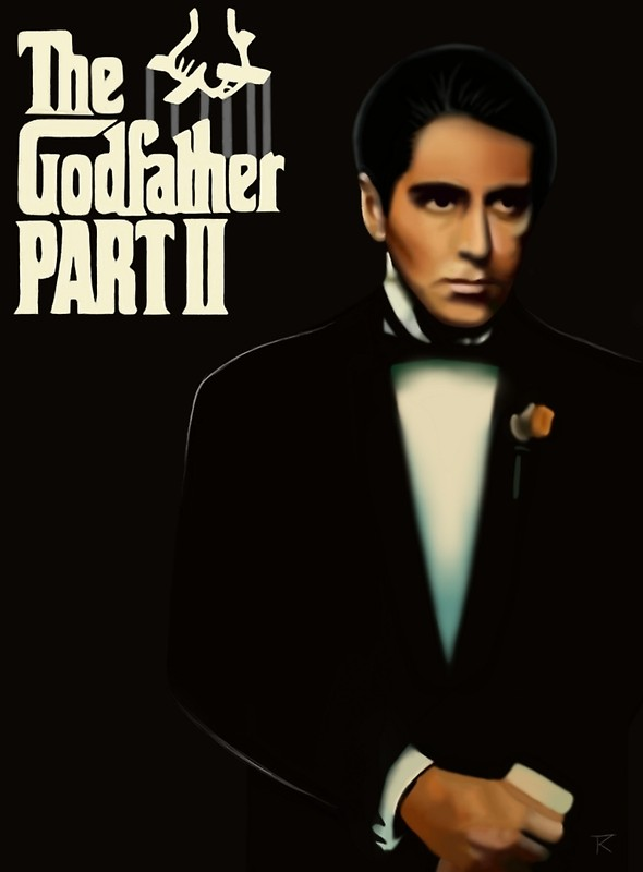 The Godfather (1974) Flat8010