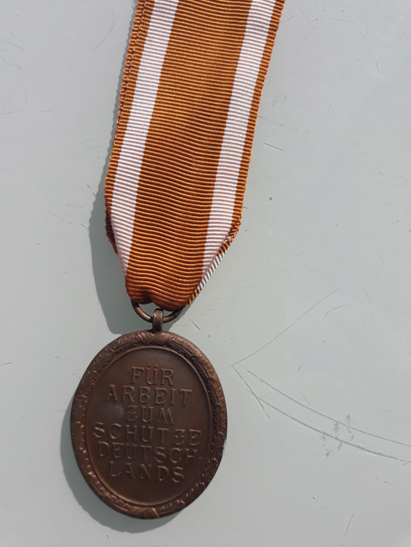 medaille mur de l'atlantique 04311