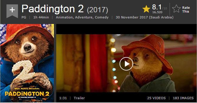 حصريا فيلم الاينمي والمغامرة والكوميدي المنتظر Paddington 2 (2017) 720p BluRay مترجم بنسخة البلوري 2018-019