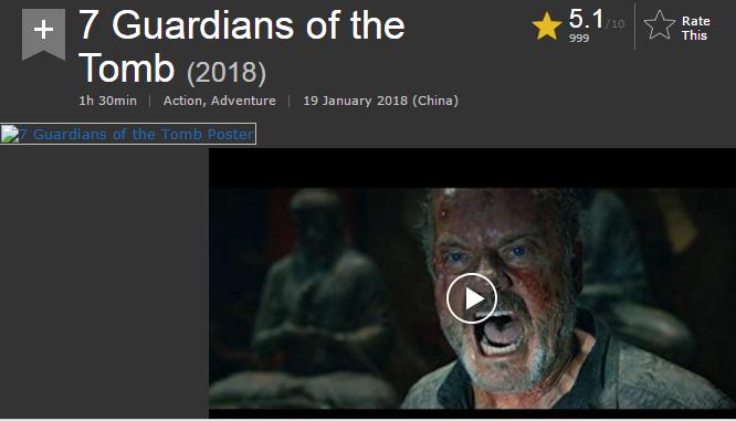 حصريا فيلم الاكشن والمغامرة الرائع 7 Guardians of the Tomb 2018 720p WEB-DL مترجم بنسخة الويب ديل 2018-019