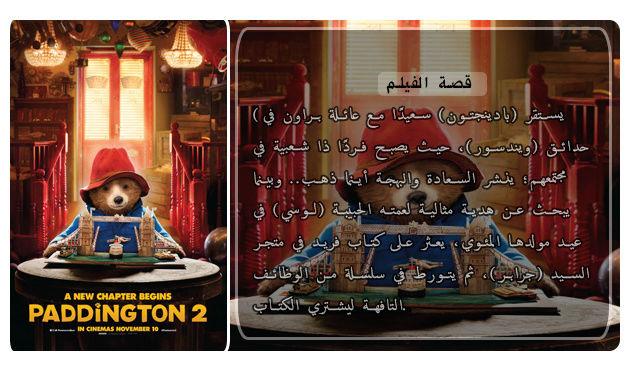 حصريا فيلم الاينمي والمغامرة والكوميدي المنتظر Paddington 2 (2017) 720p BluRay مترجم بنسخة البلوري Oie512