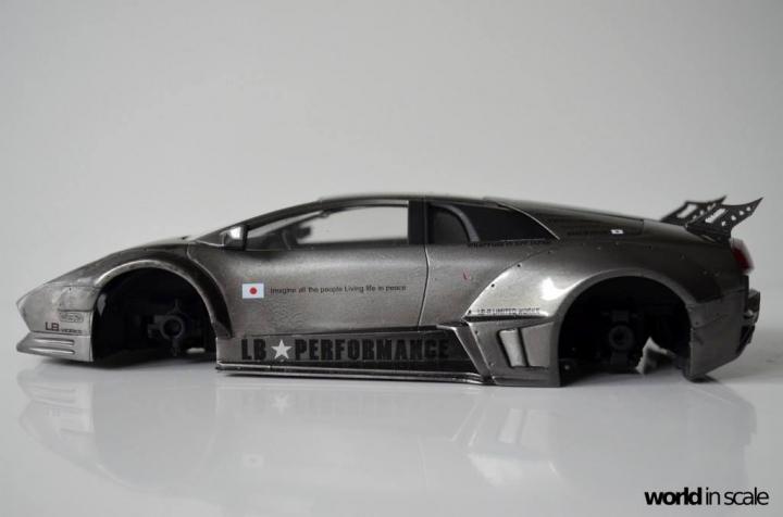 "Lamborghini Murciélago ""LIBERTY WALK"" (LB PERFORMANCE) - 1/24 by Fujimi, Eigthyo 1014"