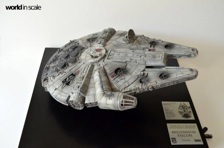 "STAR WARS ""Millennium Falcon"" - 1/72 by Fine Molds / Revell, LEDs & mehr 1022"