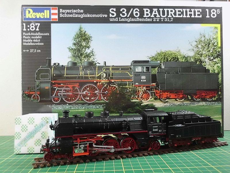 Revell 02168 - Baureihe 18.5 mit Langlauftender 1/87 - Fertig - Seite 2 10e10
