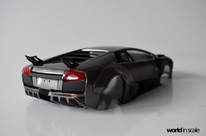 "Lamborghini Murciélago ""LIBERTY WALK"" (LB PERFORMANCE) - 1/24 by Fujimi, Eigthyo 1113"