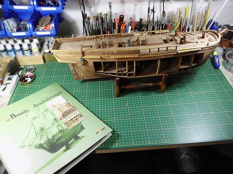 DelPrado - HMAV Bounty 1:46 (Weiter)Baubericht 1129