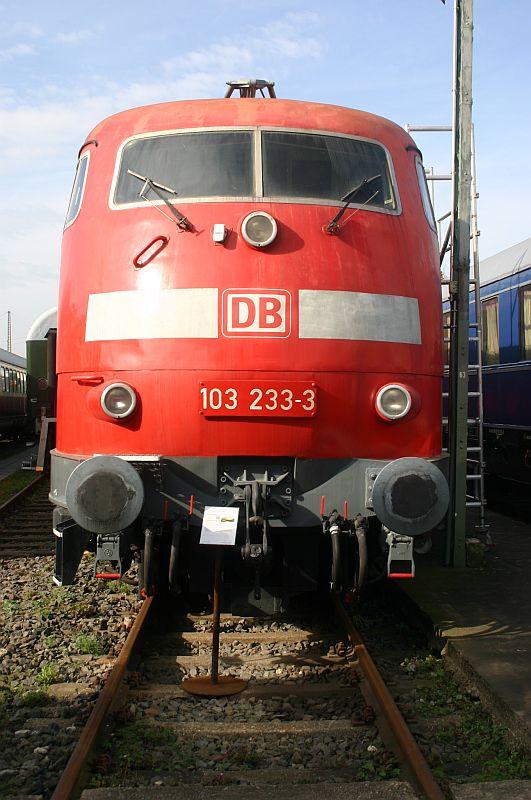 Kleiner Besuch im Eisenbahnmuseum Koblenz am 19.10.17 11a10