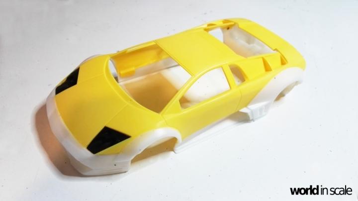"Lamborghini Murciélago ""LIBERTY WALK"" (LB PERFORMANCE) - 1/24 by Fujimi, Eigthyo 120"