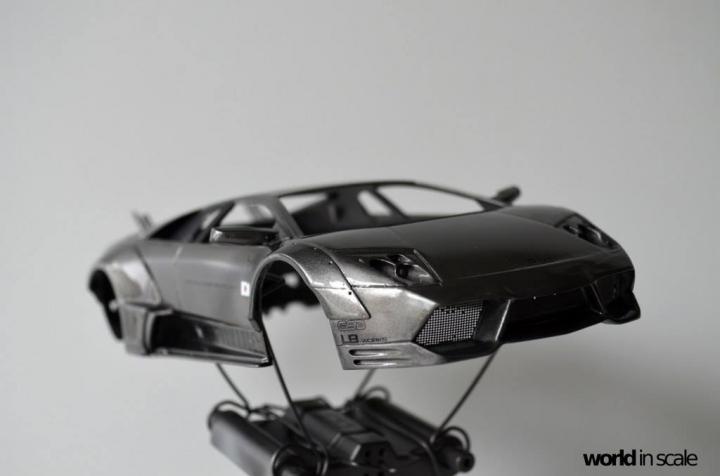 "Lamborghini Murciélago ""LIBERTY WALK"" (LB PERFORMANCE) - 1/24 by Fujimi, Eigthyo 122"