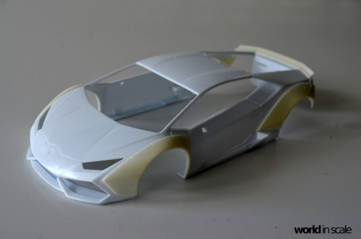 "Lamborghini Huracán ""Liberty Walk"" - 1/24 by Aoshima & Hobby Design 123"