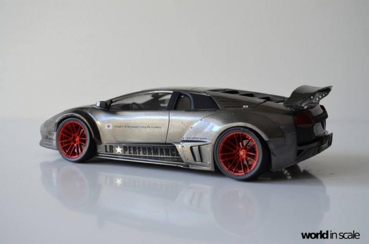 """Lamborghini Murciélago """"LIBERTY WALK"""" (LB PERFORMANCE) - 1/24 by Fujimi, Eigthyo 12n10"""
