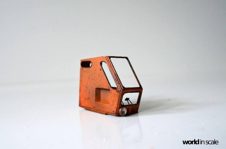 """WEIMAR T174-2 """"Fortschritt"""" - 1/35 by Balaton Modell 1314"""