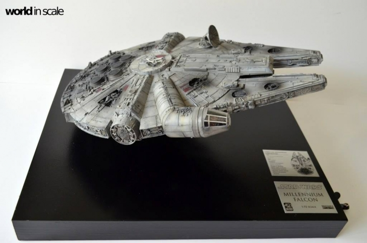 "STAR WARS ""Millennium Falcon"" - 1/72 by Fine Molds / Revell, LEDs & mehr 1318"