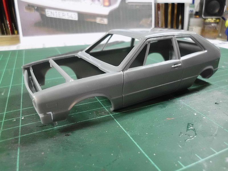 AMT/Ertl 2002 - VW Scirocco - Plastikbausatz in 1/25 Baubericht 14b10