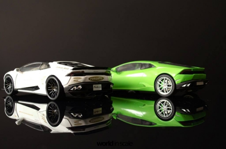 "Lamborghini Huracán ""Liberty Walk"" - 1/24 by Aoshina + Hobby Design 14neue10"