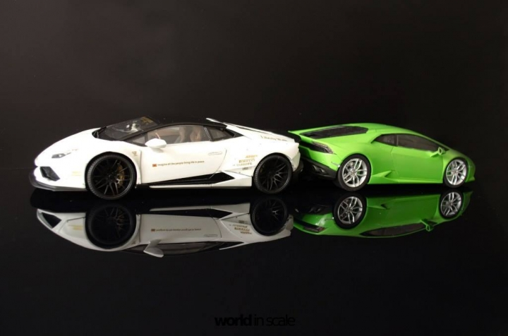 "Lamborghini Huracán ""Liberty Walk"" - 1/24 by Aoshina + Hobby Design 1511"