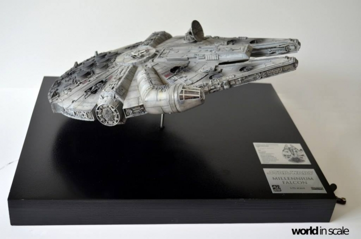"STAR WARS ""Millennium Falcon"" - 1/72 by Fine Molds / Revell, LEDs & mehr 1517"