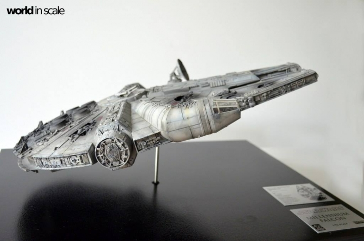 "STAR WARS ""Millennium Falcon"" - 1/72 by Fine Molds / Revell, LEDs & mehr 1618"