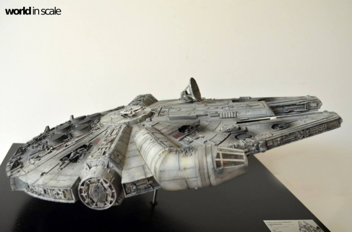 "STAR WARS ""Millennium Falcon"" - 1/72 by Fine Molds / Revell, LEDs & mehr 1716"