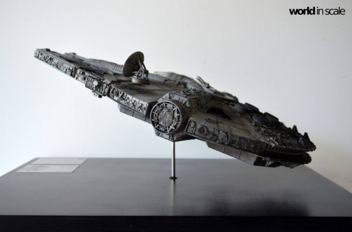 "STAR WARS ""Millennium Falcon"" - 1/72 by Fine Molds / Revell, LEDs & mehr 1817"
